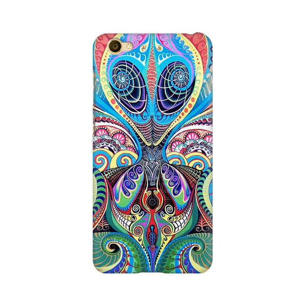 Vivo Y67 Psychedelic Alien Phone Cover & Case