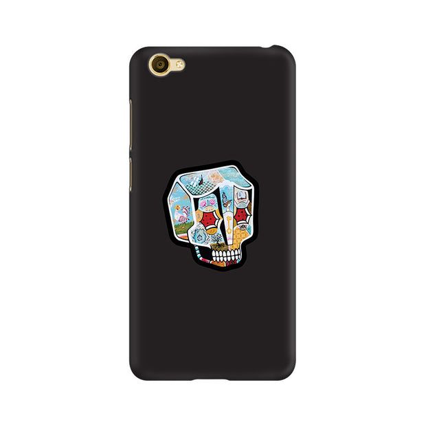 Vivo Y67 Skull Cartoon Phone Cover & Case