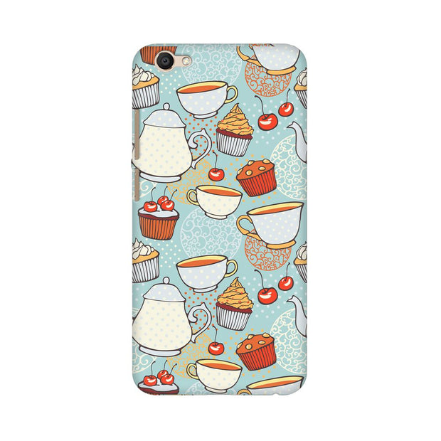 Vivo Y69 Cakes And Tea Phone Cover & Case