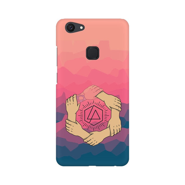 Vivo Y75 Linkin Park Logo Chester Tribute Phone Cover & Case