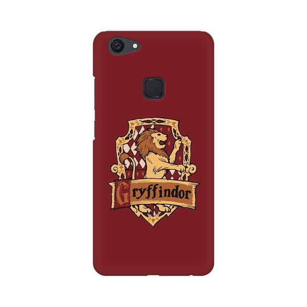 Vivo Y75 Gryffindor House Crest Harry Potter Phone Cover & Case