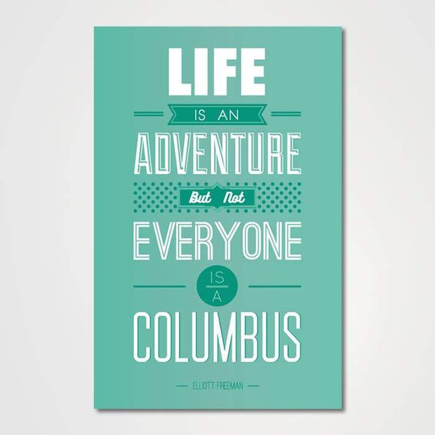 Life Is An Adventure-Canvas-GetArt