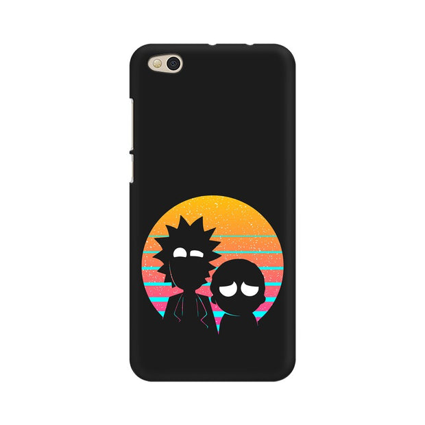 Xiaomi Mi 5C Rick & Morty Outline Minimal Phone Cover & Case