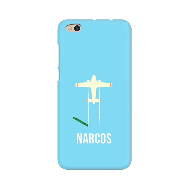 Xiaomi Mi 5C Narcos TV Series  Minimal Fan Art Phone Cover & Case