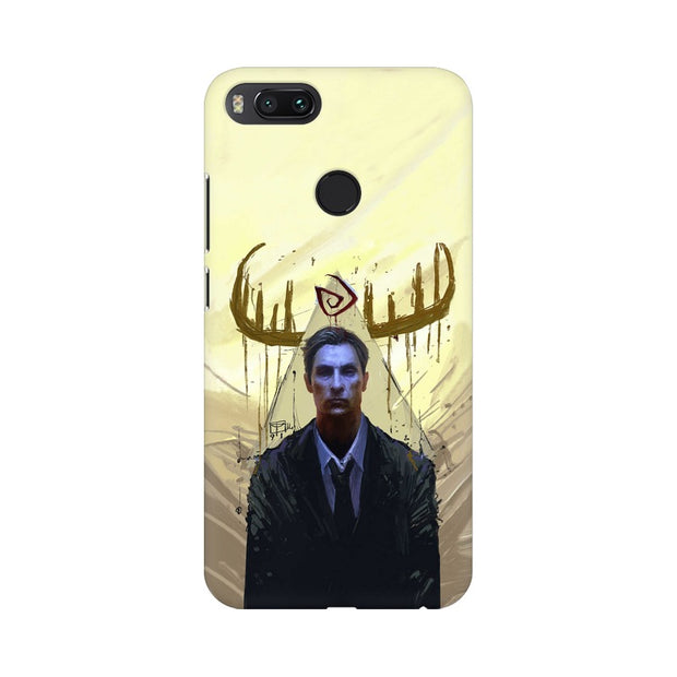 Xiaomi Mi A1 True Detective Rustin Fan Art Phone Cover & Case