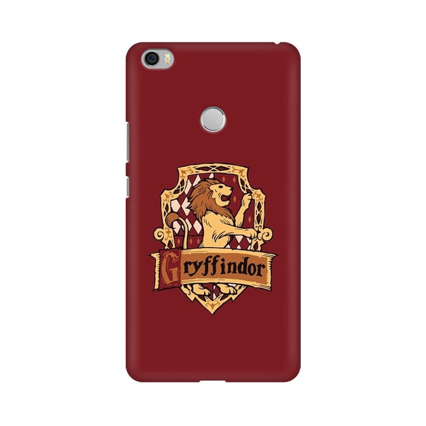 Xiaomi Mi Max Gryffindor House Crest Harry Potter Phone Cover & Case