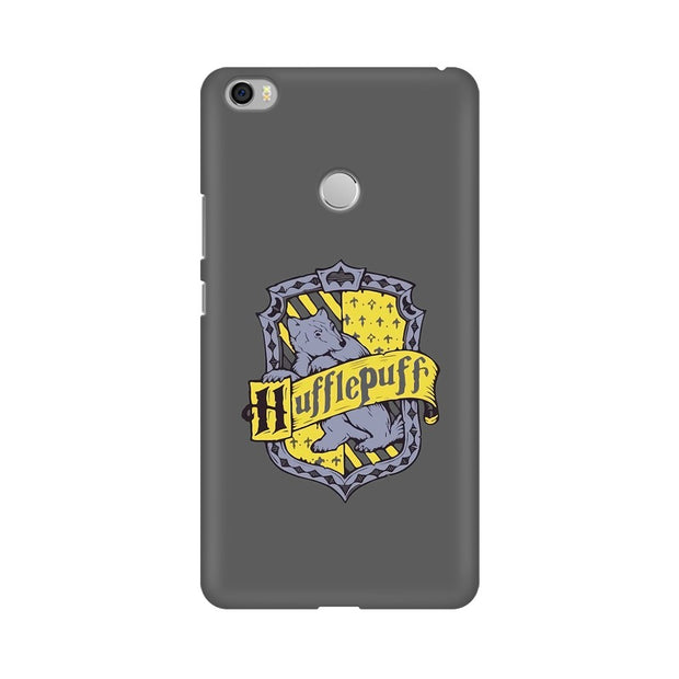 Xiaomi Mi Max Hufflepuff House Crest Harry Potter Phone Cover & Case