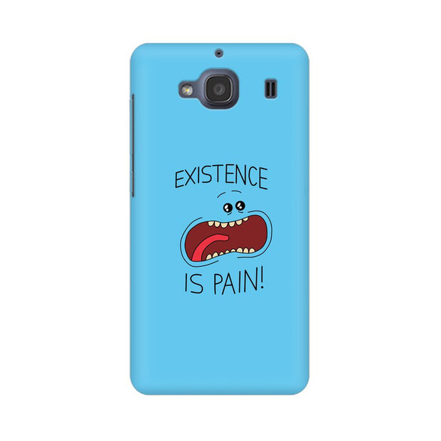 Xiaomi Redmi 2s Existence Is Pain Mr Meeseeks Rick & Morty Phone Cover & Case