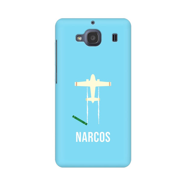Xiaomi Redmi 2s Narcos TV Series  Minimal Fan Art Phone Cover & Case