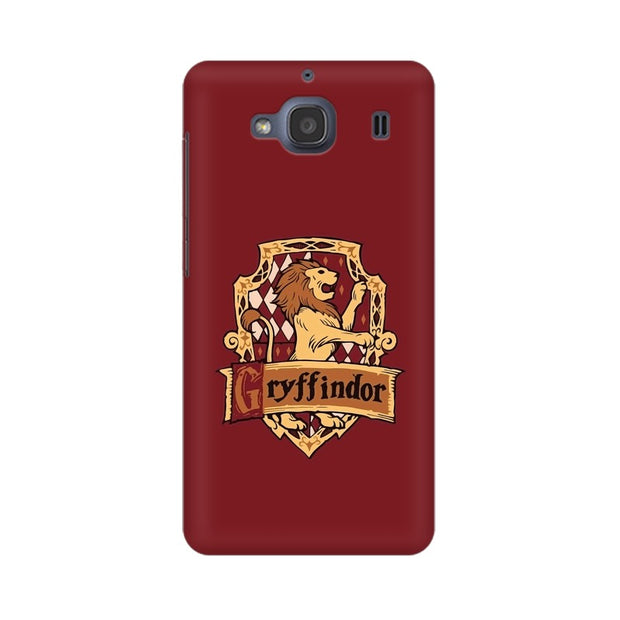 Xiaomi Redmi 2s Gryffindor House Crest Harry Potter Phone Cover & Case