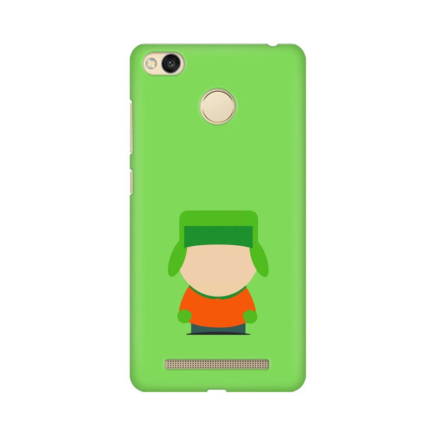 Xiaomi Redmi 3s Prime Kyle Broflovski Minimal South Park Phone Cover & Case