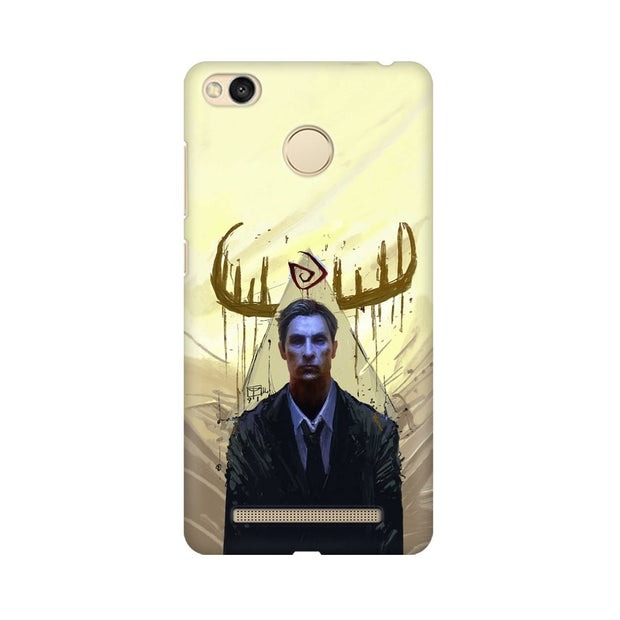 Xiaomi Redmi 3s Prime True Detective Rustin Fan Art Phone Cover & Case