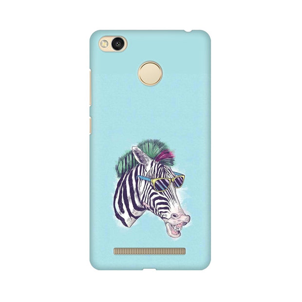Xiaomi Redmi 3s Prime The Zebra Style Cool Phone Cover & Case
