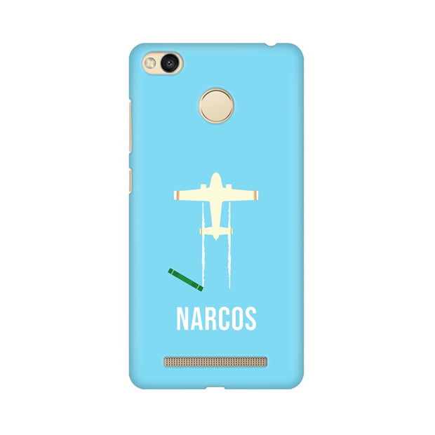 Xiaomi Redmi 3s Prime Narcos TV Series  Minimal Fan Art Phone Cover & Case