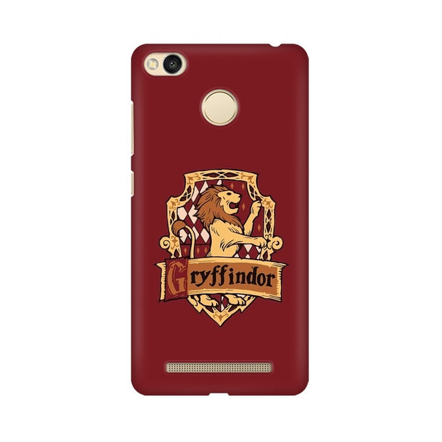 Xiaomi Redmi 3s Prime Gryffindor House Crest Harry Potter Phone Cover & Case
