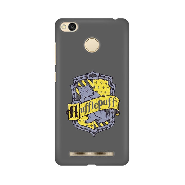 Xiaomi Redmi 3s Prime Hufflepuff House Crest Harry Potter Phone Cover & Case