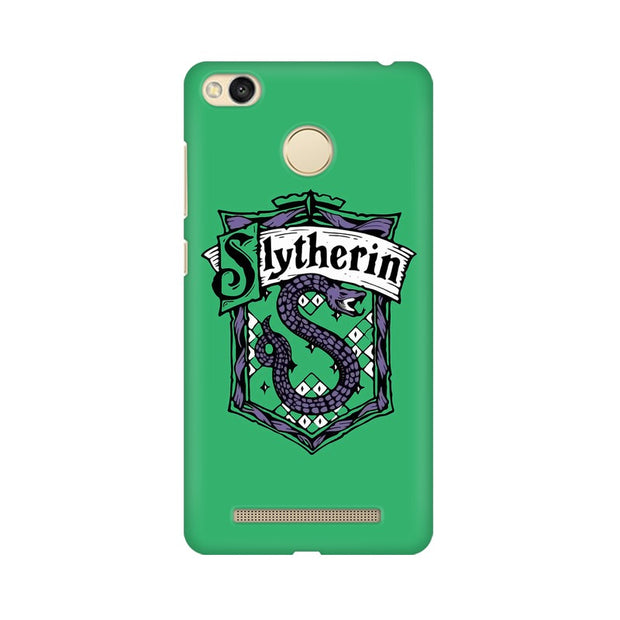 Xiaomi Redmi 3s Prime Slytherin House Crest Harry Potter Phone Cover & Case