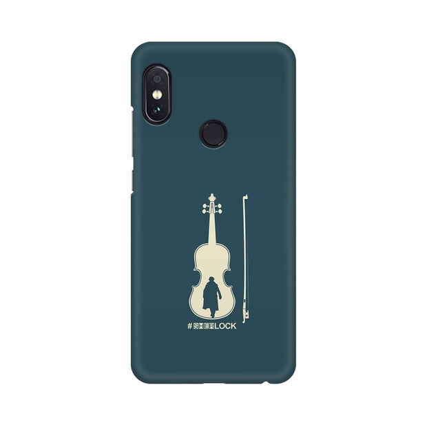 Xiaomi Redmi Note 5 Pro Sherlock Violin Fan Art Phone Cover & Case