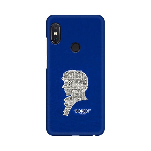 "Xiaomi Redmi Note 5 Pro When Sherlock Is ""Bored"" Phone Cover & Case"