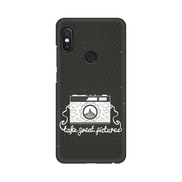 Xiaomi Redmi Note 5 Pro Take Great Pictures Quote Phone Cover & Case