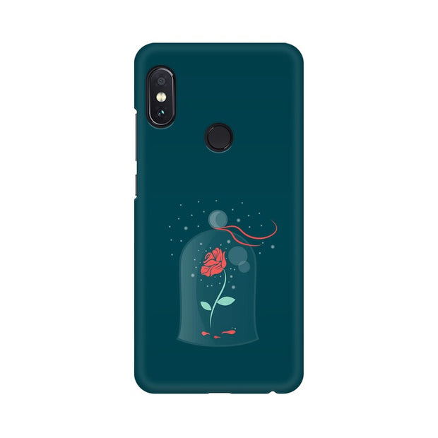 Xiaomi Redmi Note 5 Pro Rose of Love Beauty & The Beast Phone Cover & Case
