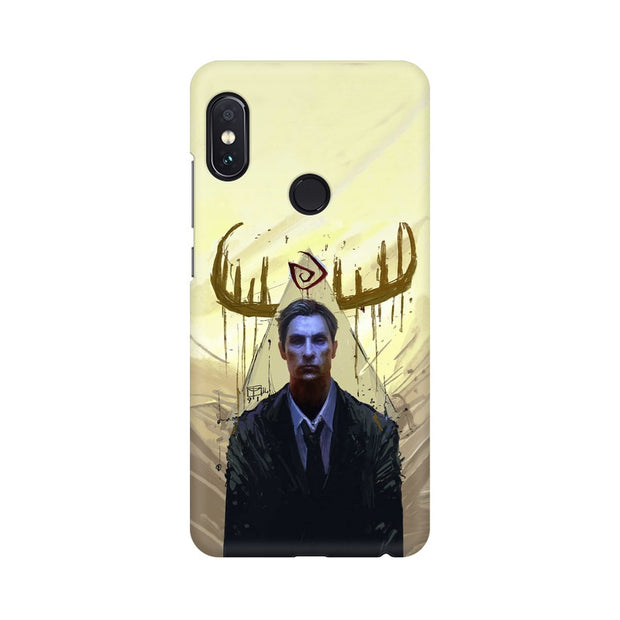 Xiaomi Redmi Note 5 Pro True Detective Rustin Fan Art Phone Cover & Case