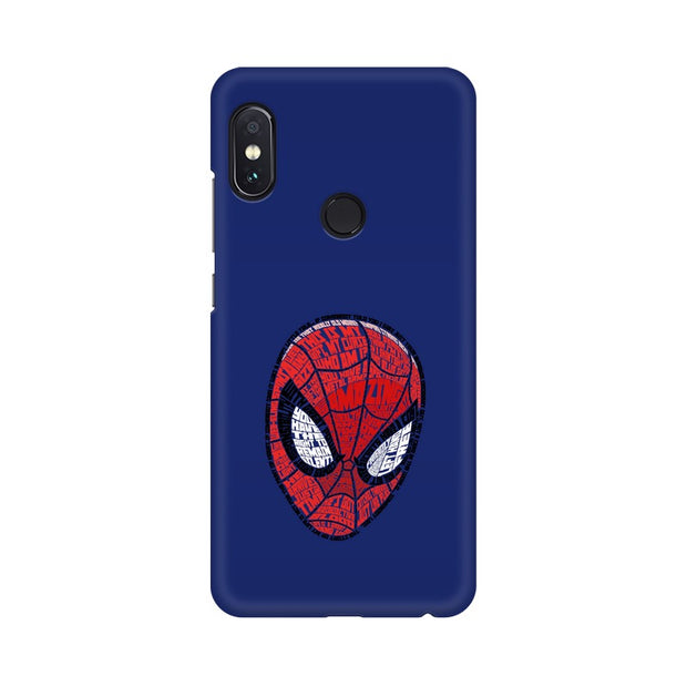 Xiaomi Redmi Note 5 Pro Spider Man Graphic Fan Art Phone Cover & Case