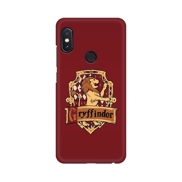 Xiaomi Redmi Note 5 Pro Gryffindor House Crest Harry Potter Phone Cover & Case