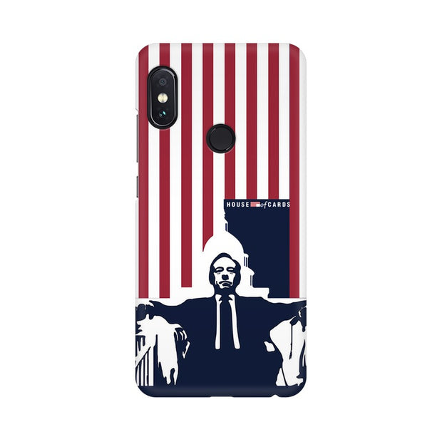 Xiaomi Redmi Note 5 Pro House Of Cards Underwood On Chair Phone Cover & Case