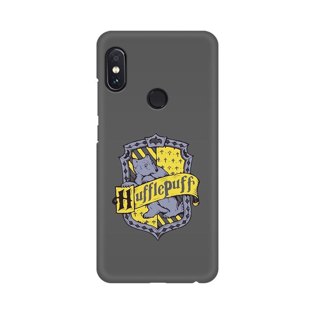 Xiaomi Redmi Note 5 Pro Hufflepuff House Crest Harry Potter Phone Cover & Case