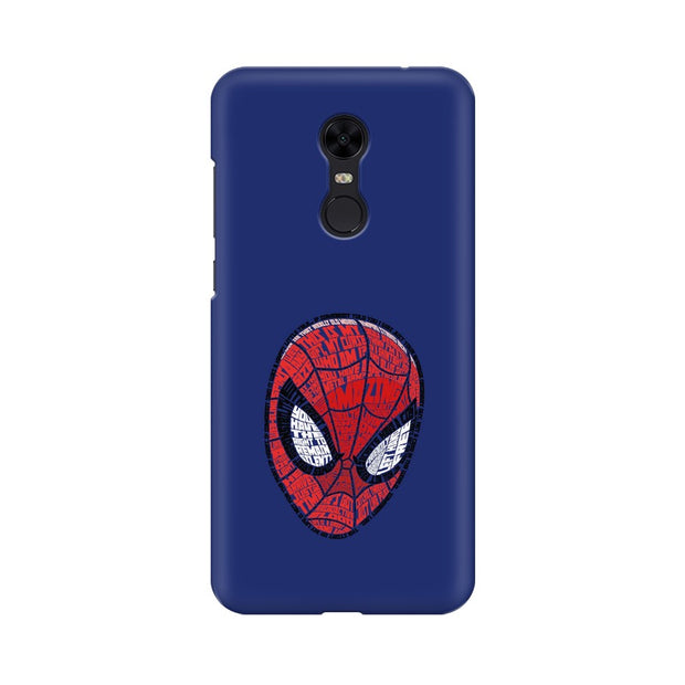 Xiaomi Redmi Note 5 Spider Man Graphic Fan Art Phone Cover & Case
