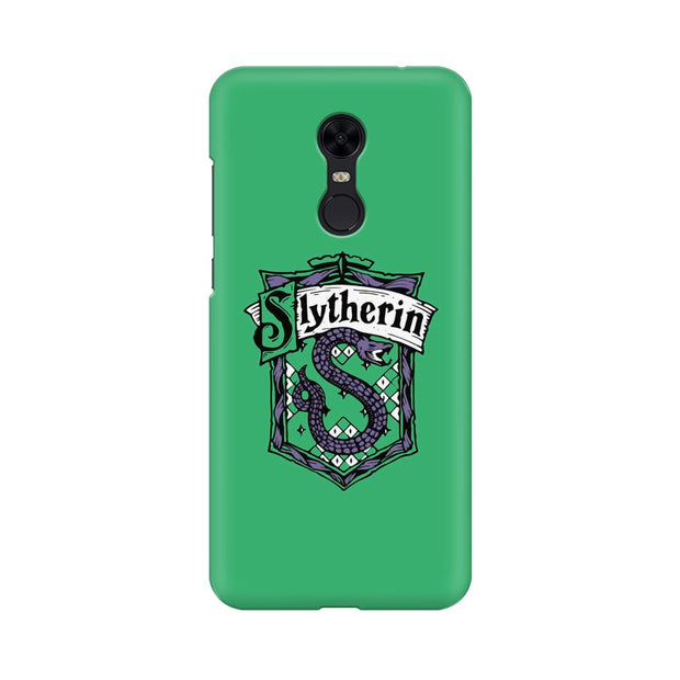 Xiaomi Redmi Note 5 Slytherin House Crest Harry Potter Phone Cover & Case