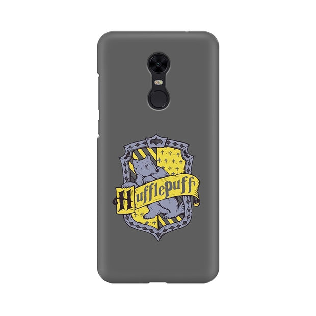 Xiaomi Redmi Note 5 Hufflepuff House Crest Harry Potter Phone Cover & Case