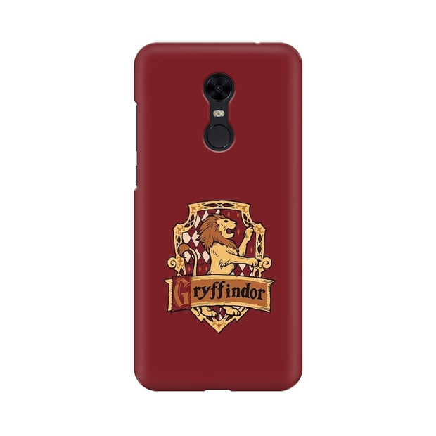Xiaomi Redmi Note 5 Gryffindor House Crest Harry Potter Phone Cover & Case