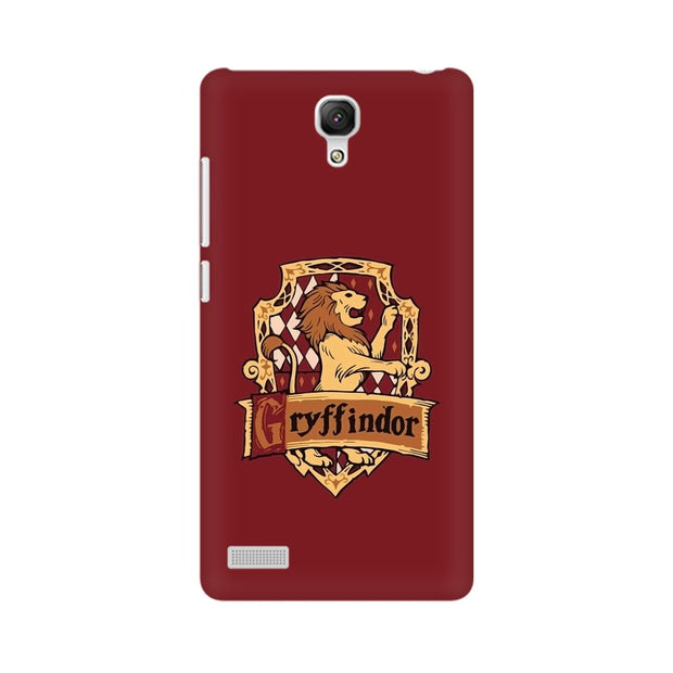 Xiaomi Redmi Note Gryffindor House Crest Harry Potter Phone Cover & Case