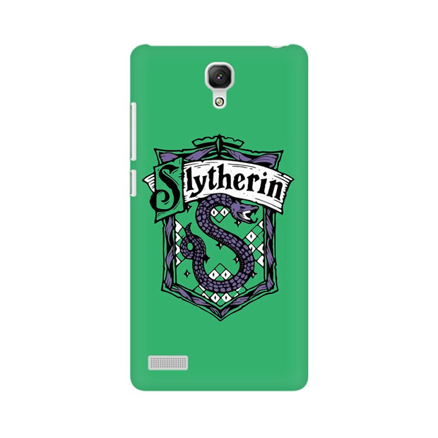Xiaomi Redmi Note Slytherin House Crest Harry Potter Phone Cover & Case