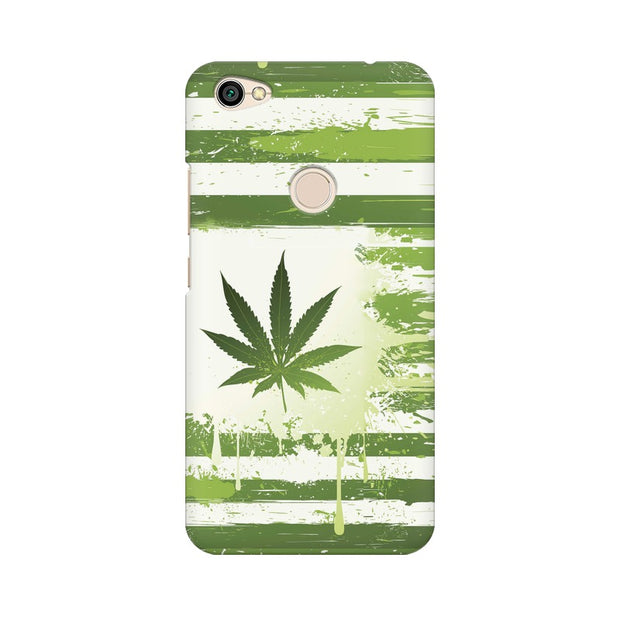 Xiaomi Redmi Y1 Weed Flag  Phone Cover & Case