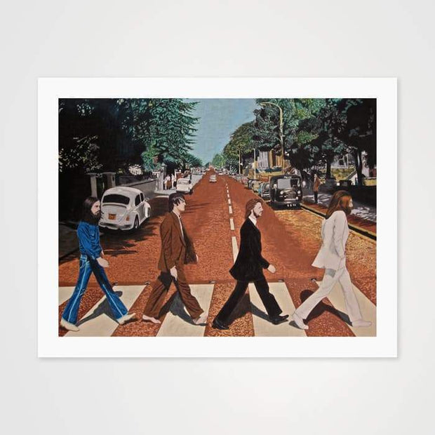 The Abbey Road Symbolism - High Quality Beatles Art For Your Wall-Art Prints-GetArt