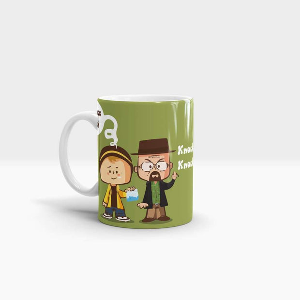 Breaking Bad Coffee Mug Knock Knock Science Bitch Wraparound Cool Funny