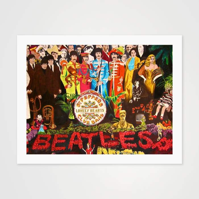 Sgt Pepper - High Quality Beatles Art For Your Wall-Art Prints-GetArt