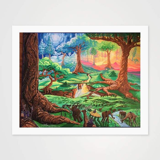 The Park - High Quality Fantasy Nature Art For Your Wall-Art Prints-GetArt