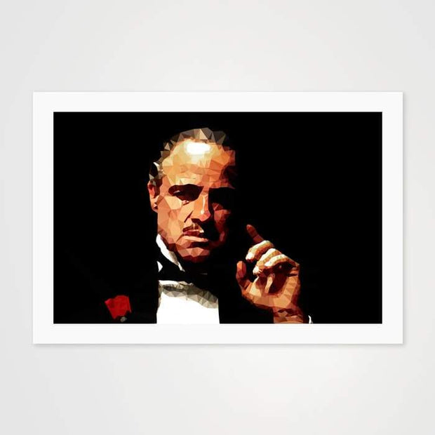 The Godfather - Vito Corleone - High Quality Pop Art For Your Wall-Art Prints-GetArt
