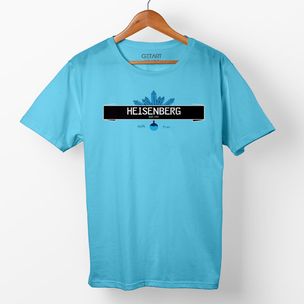 Breaking Bad Heisenberg 99% Pure Half Sleeve Round Neck Printed T shirt