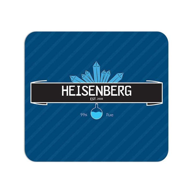Breaking Bad Heisenberg 99% Pure - Large Mouse Pad