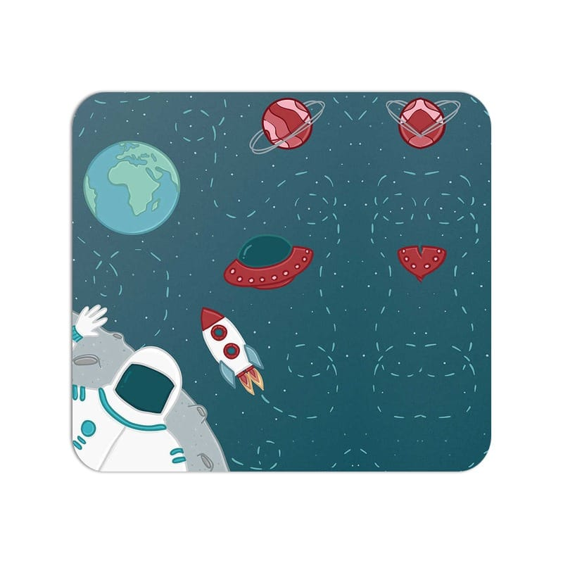 From Far Far Away Space Art Large Mouse Pad