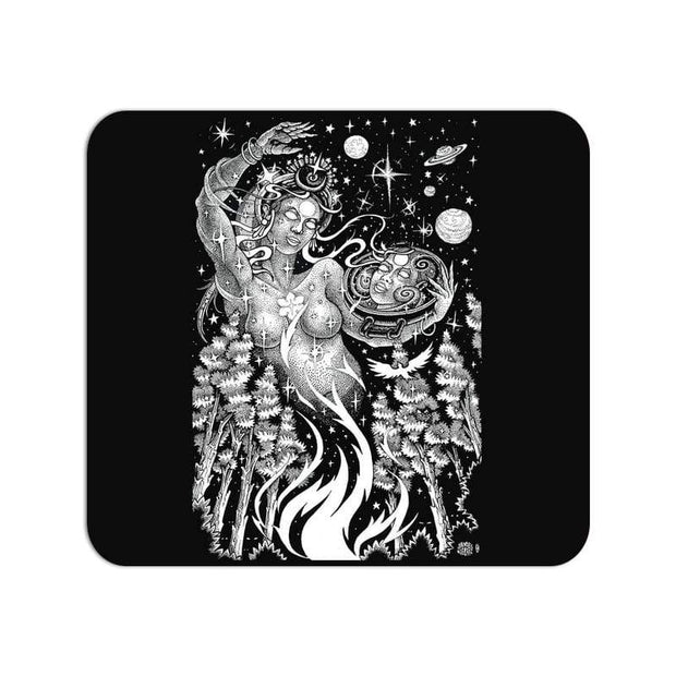 Coming From Life- High Quality Psychedelic Art Large Mouse Pad