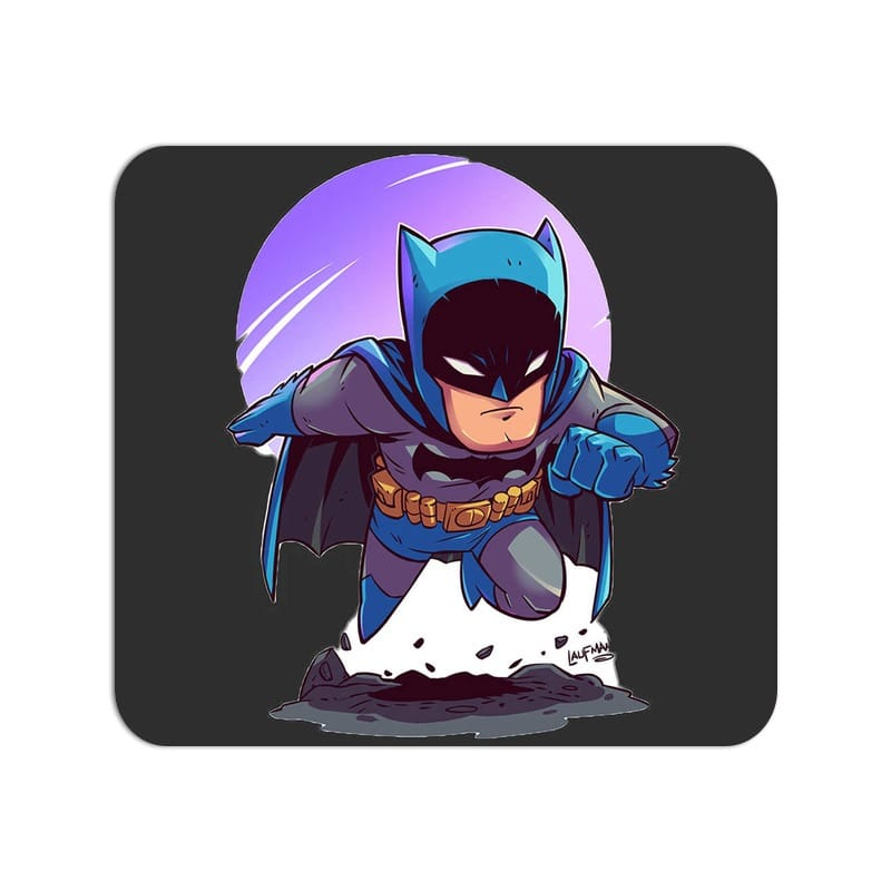 Kiddo Batman Cute Fan Art Large Mouse Pad