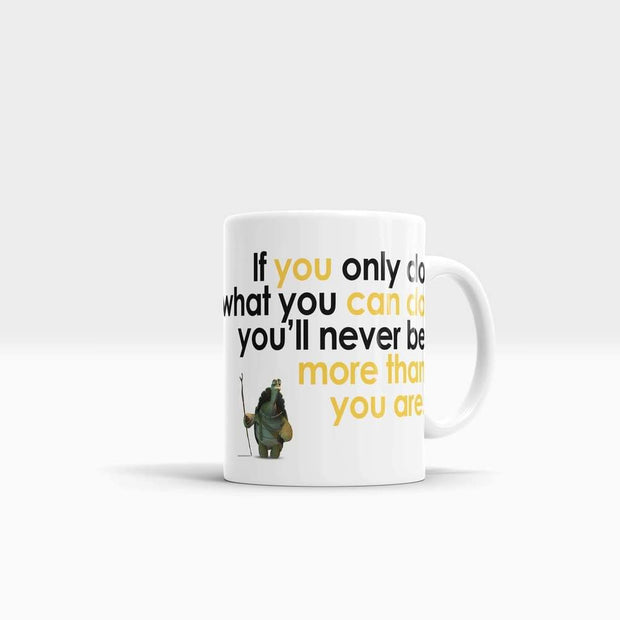 GetArt Cute Cool Kung Fu panda quote Po Mug
