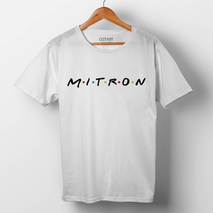 M.I.T.R.O.N Funny Quote Half Sleeve Round Neck Printed T shirt