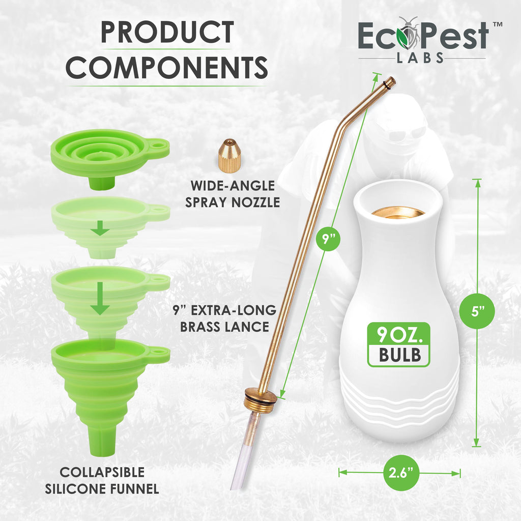 Powder Duster (Max) | Pest Control Powder Applicator by EcoPest Labs